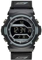 Skechers Men's SR1033 Digital Display Quartz Black Watch