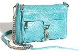 'Mini MAC' Snake Print Shoulder Bag