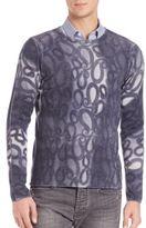 Emporio Armani Paisley Sweater