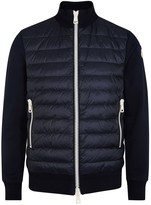 Moncler Maglia Shell And Jersey Jacket