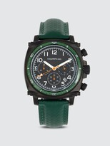 Thumbnail for your product : Morphic M83 Series 44mm Leather Watch
