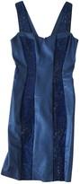 Jitrois Blue Leather Dress for Women
