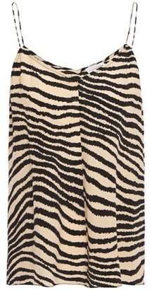 By Malene Birger Zebra-print Crepe De Chine Camisole