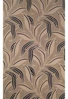 Bed Bath & Beyond Liora Manne Ravella Leaf 8-Foot x 10-Foot Indoor/Outdoor Area Rug in Neutral