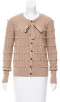 ALICE by Temperley Textured Wool-Blend Cardigan