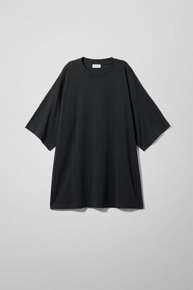 Weekday Huge T-Shirt Dress - Black
