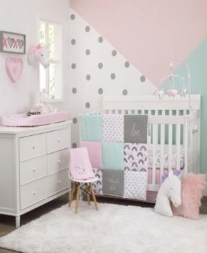 Carter's Unicorn Snuggles 4-Piece Crib Bedding Set Bedding