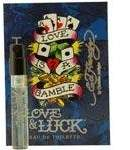 Ed Hardy LOVE & LUCK by Christian Audigier EDT SPRAY VIAL ON CARD MINI by