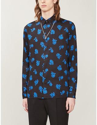 The Kooples Graphic-print woven shirt