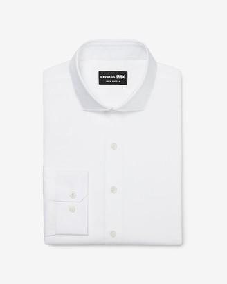 Express Extra Slim Stretch Cotton Spread Collar 1Mx Dress Shirt