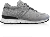 Hogan Running R261 Gray Felt and Suede Sneakers