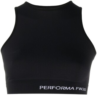Rick Owens Performa cropped sleeveless top