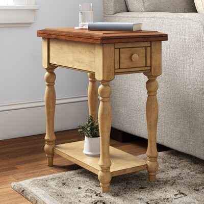 Three Posts Hirst End Table With Storage Shopstyle