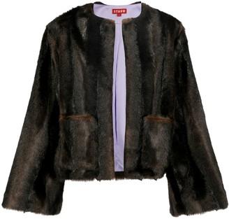 STAUD Faux fur coats