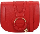See by Chloe Hana Media Shoulder Bag In Red Leather