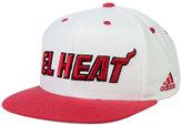 adidas Miami Heat Noches Enebea Snapback Cap