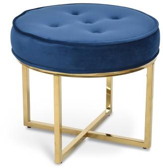 Calibre Furniture London Stool Blue