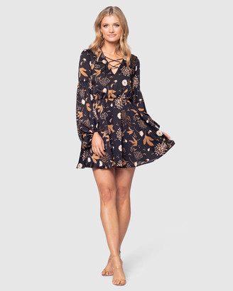 Pilgrim Women's Black Mini Dresses - Jacobella Mini - Size One Size, 6 at The Iconic