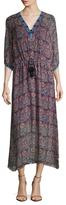 Figue Calista Printed A Line Dress