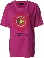 Frankie Morello front embroided T-shirt