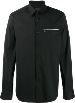 Prada zipped pocket shirt