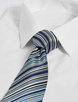 Marks and Spencer Striped Multi Colour Tie