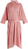 Marques Almeida MARQUES'ALMEIDA Oversized belted cotton dress