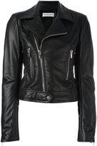 Balenciaga zipped biker jacket