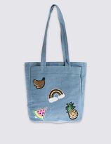 Marks and Spencer Kids' Badge Shopper Bag