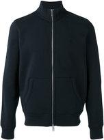 Burberry front zip sweatshirt - men - Cotton/Polyester - S