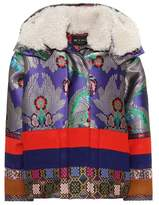 Etro Fur-trimmed coat