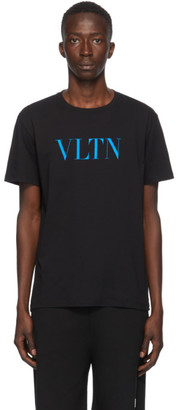 Valentino Black and Blue VLTN T-Shirt