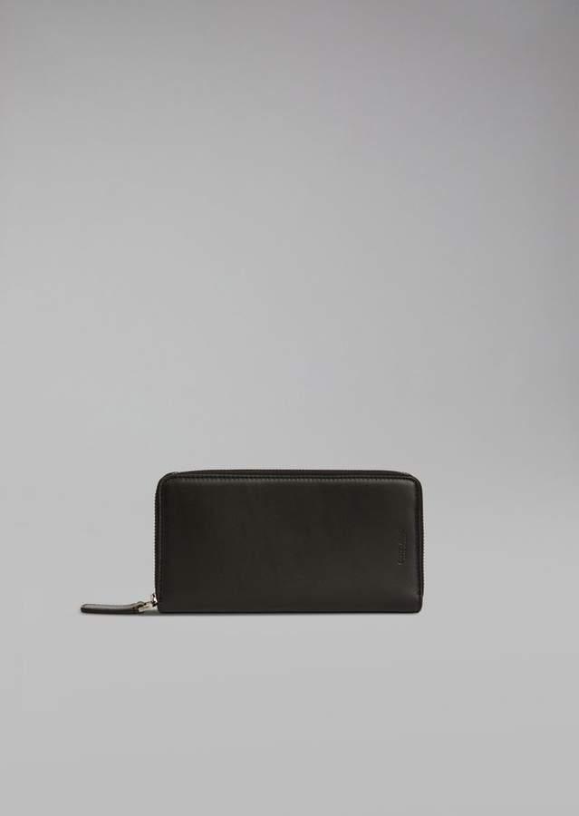 Giorgio Armani Leather Bifold Wallet