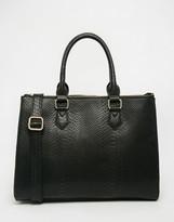Asos Zip Top Tote Bag