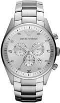 Emporio Armani Watch, Women's Chronograph Stainless Steel Bracelet 43mm AR5963