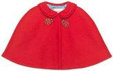 Gucci Felt Ladybug Cape, Red, Size 6-24 Months