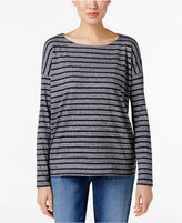 Eileen Fisher Striped Organic Cotton T-Shirt