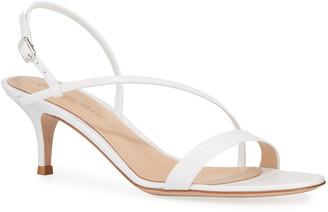 Gianvito Rossi Strappy Leather Slingback Sandals
