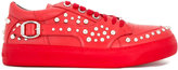 Jimmy Choo Roman studded sneakers - men - Leather/rubber - 40