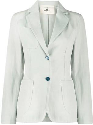 Barena Tailored Cotton Blazer