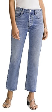 AGOLDE Ripley Ankle Straight Jeans in Forfeit