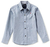 Nautica Big Boys 8-20 Chambray Long-Sleeve Shirt