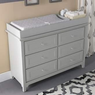 Tiamo Ti Amo Castello Changing Table Dresser Ti Amo Color: Misty Grey