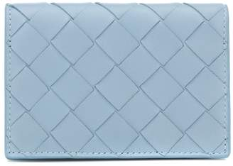 Bottega Veneta Intrecciato leather flap wallet