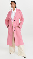 Thumbnail for your product : VVB Brushed Wool Coat