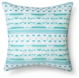"Xhilaration Embroidery Pillow (14.6""x15"") Multicolor"