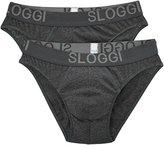 Sloggi Men's Brief Briefs (Pack of 2)- -