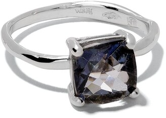 Wouters & Hendrix Gold 18kt white gold Topaz ring