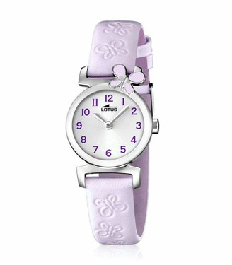 Lotus Girls Analogue Quartz Watch with Leather Strap 15948/3