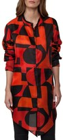 Akris Women's Print Silk Tunic